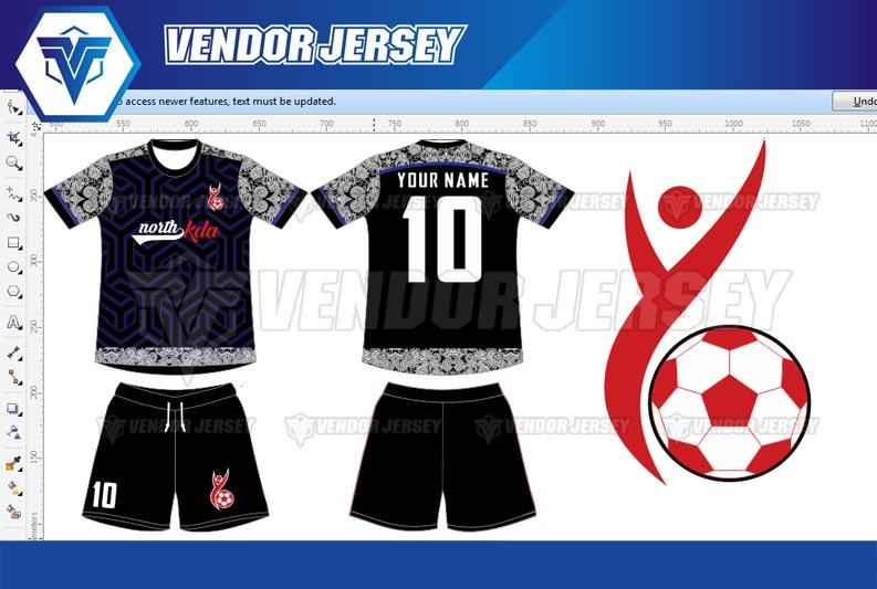 Bikin Baju Futsal Printing di Bekasi desain custom