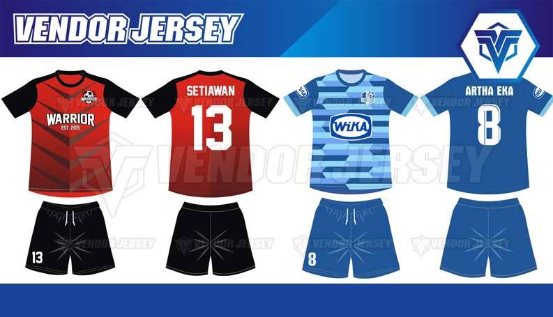 Bikin Jersey Bola Di Bekasi desain sendiri