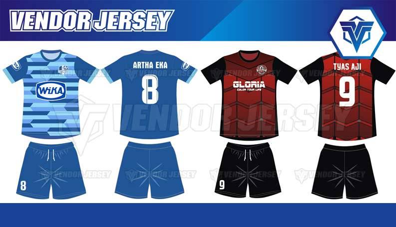 Bikin Jersey Bola Full Print Bekasi desain sendiri