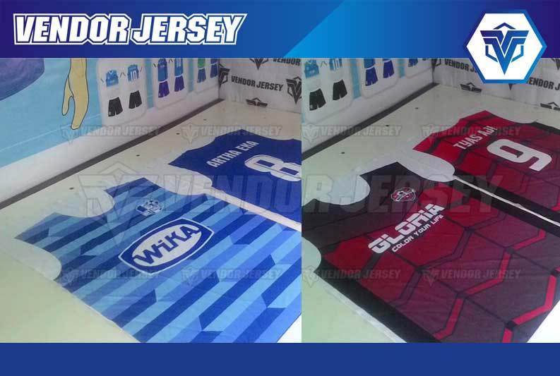 Bikin Jersey Bola Full Print Bekasi murah