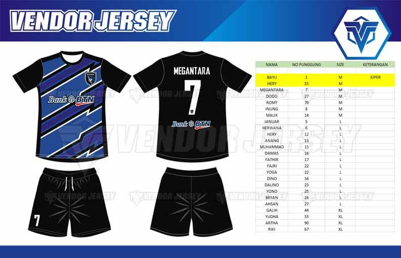 Bikin Jersey Full Print Bekasi custom