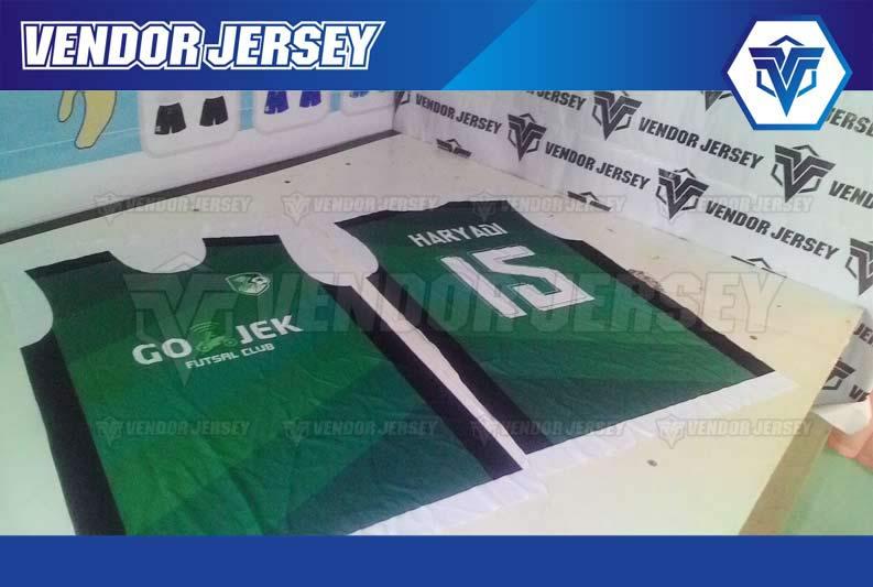 Bikin Jersey Futsal di Bekasi murah