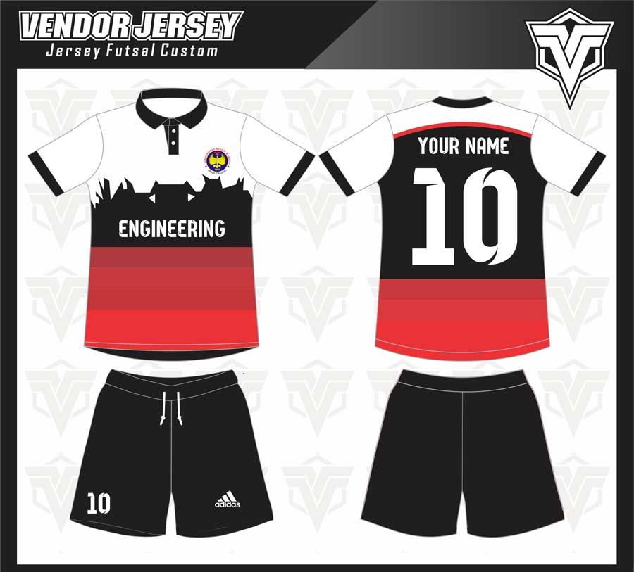 Jasa Pembuatan Baju Futsal Printing Di Bekasi desain custom