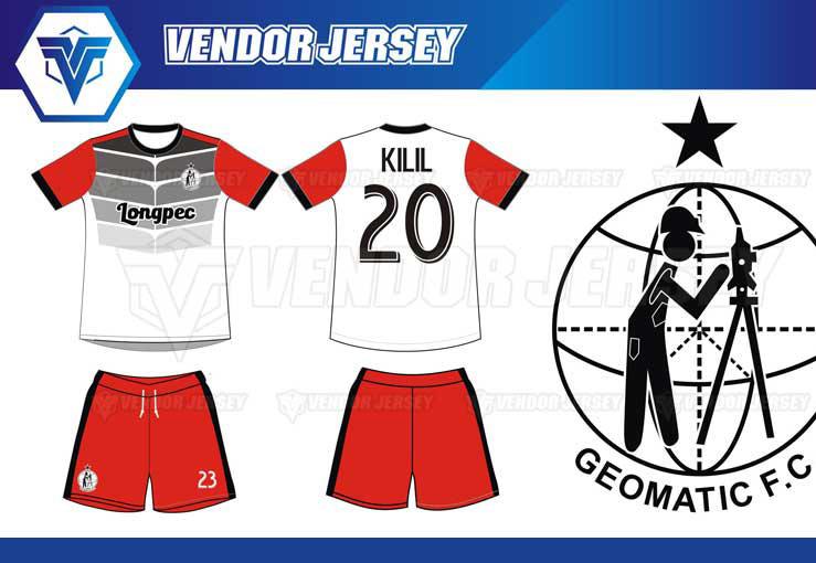 Jasa Pembuatan Jersey Bola di Bekasi desain custom