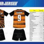 Jasa Pembuatan Jersey Futsal di Bekasi