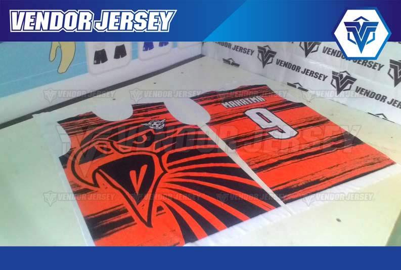 Jasa Pembuatan Jersey Futsal di Bekasi HARGA MURAH