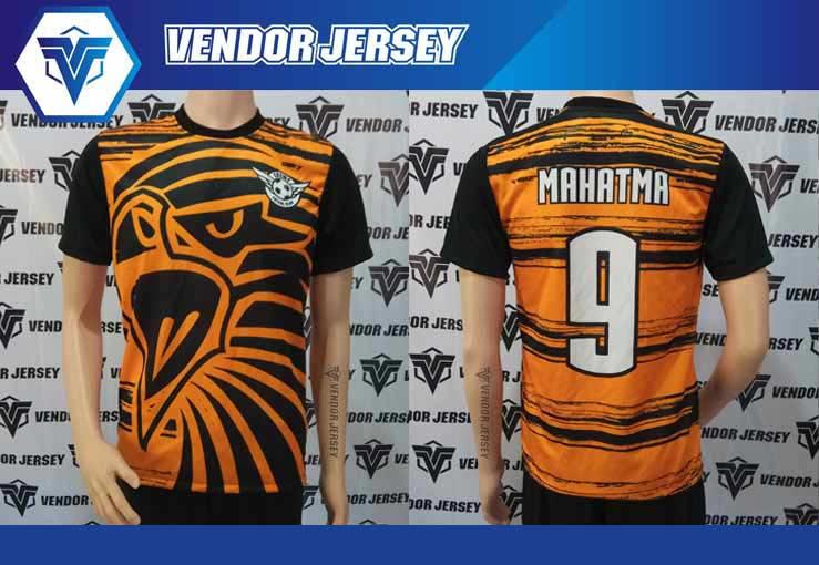 Jasa Pembuatan Jersey Futsal di Bekasi desain sendiri