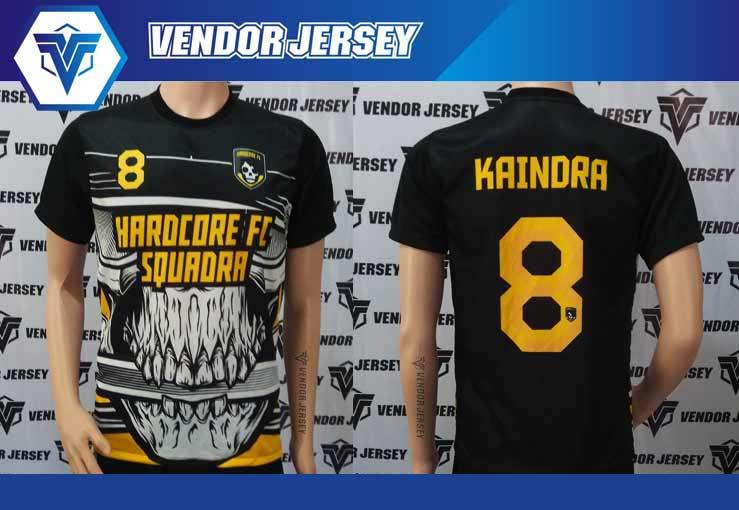 Jasa Pembuatan Kaos Futsal di Bekasi desain custom