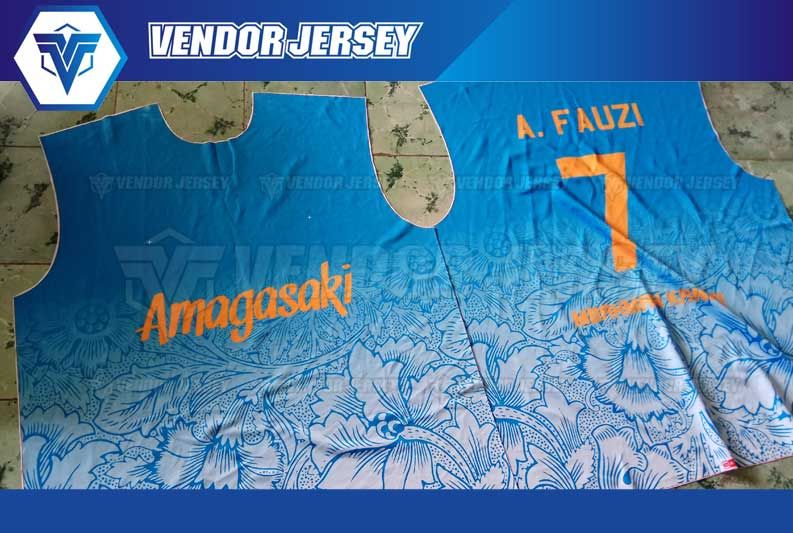 Jasa Pembuatan Seragam Futsal Printing Di Bekasi
