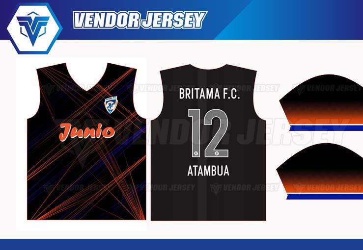 Konveksi Kaos Futsal Di Bekasi desain custom