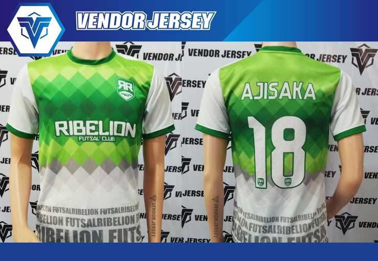 Konveksi Kaos Futsal Printing di Bekasi murah