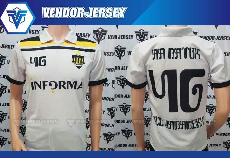 Pembuatan Jersey Futsal Printing di Bekasi lengan pendek