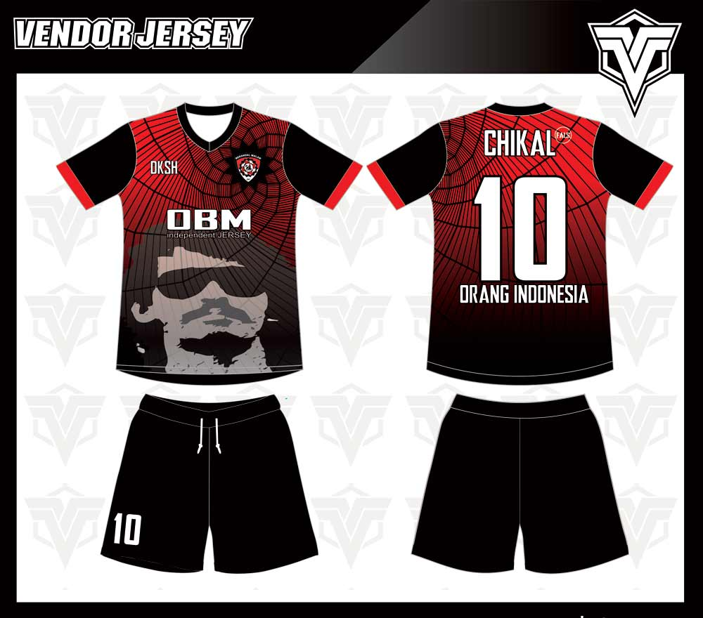 Pembuatan Kostum Futsal Printing Di Bekasi desain sendiri