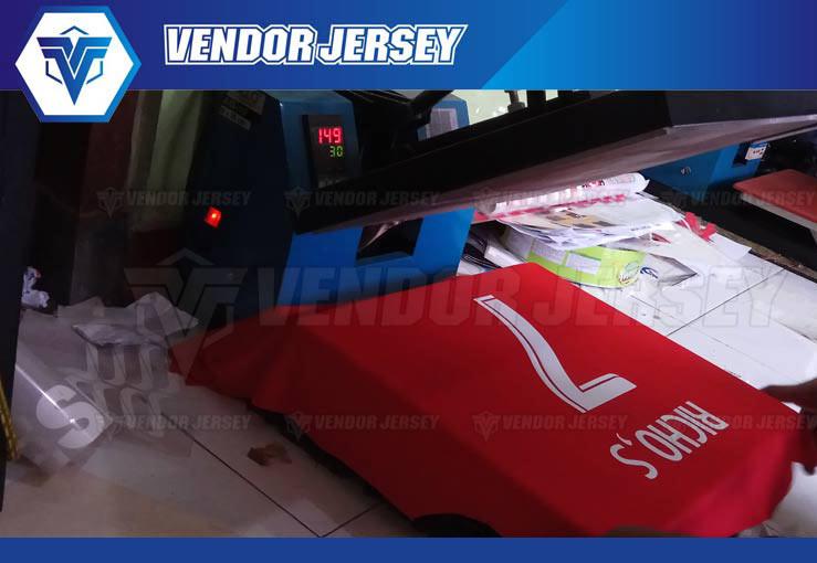 Pembuatan Kostum Olahraga sablon polyflex Di Bekasi