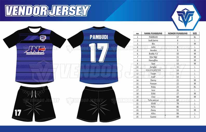 Tempat Bikin Baju Futsal Printing di Bekasi