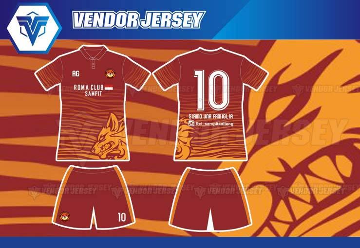 Tempat Bikin Jersey Futsal Di Bekasi desain custom