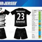 Tempat Bikin Kostum Futsal Printing di Bekasi