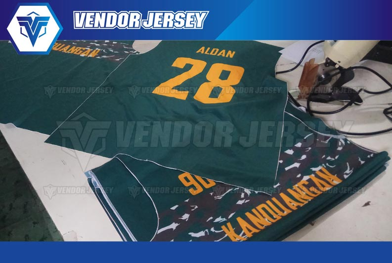 bikin jersey futsal printing di Bekasi murah