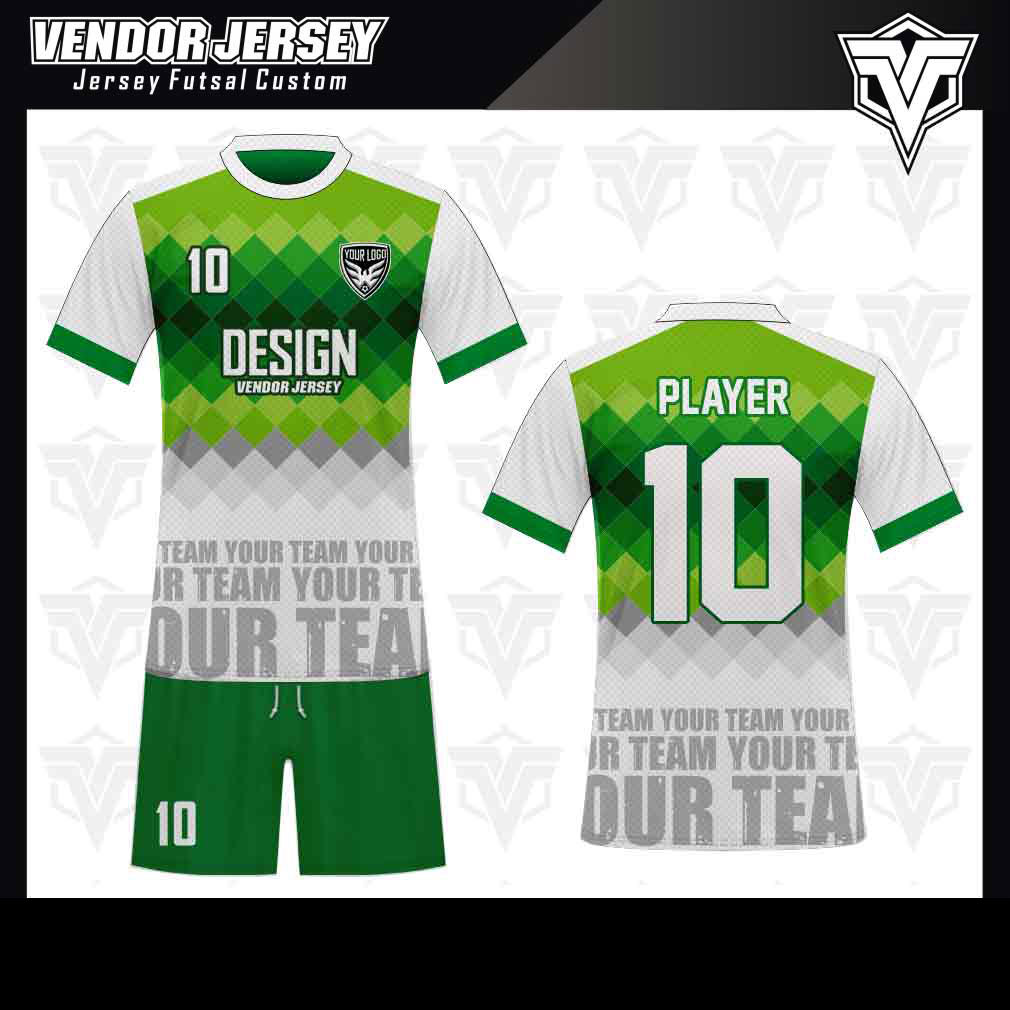desain baju futsal bekasi warna-hijaudesain baju futsal bekasi warna-hijau