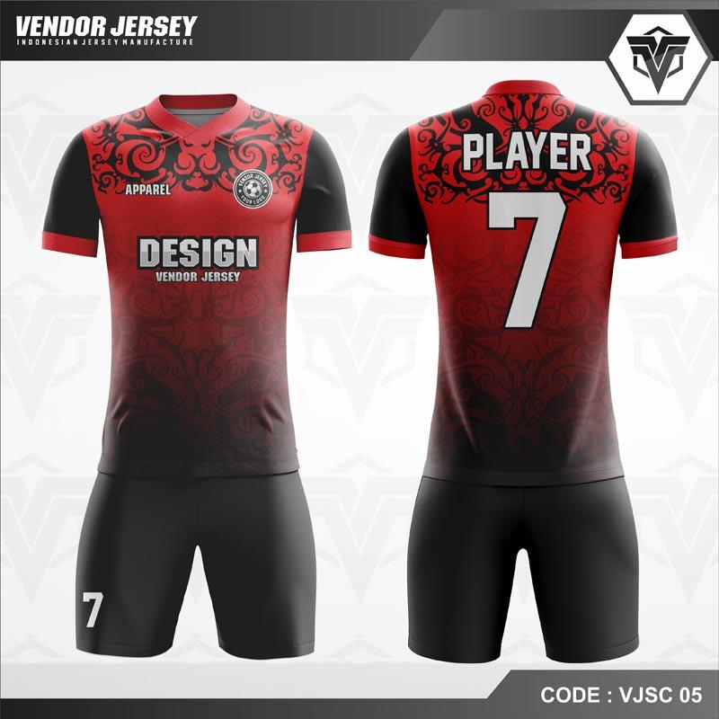 Koleksi Desain Jersey Futsal 01