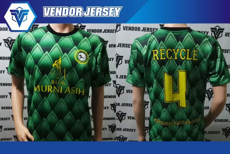 Printing Jersey Futsal di Bekasi MURAH