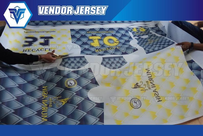 Printing Jersey Futsal di Bekasi