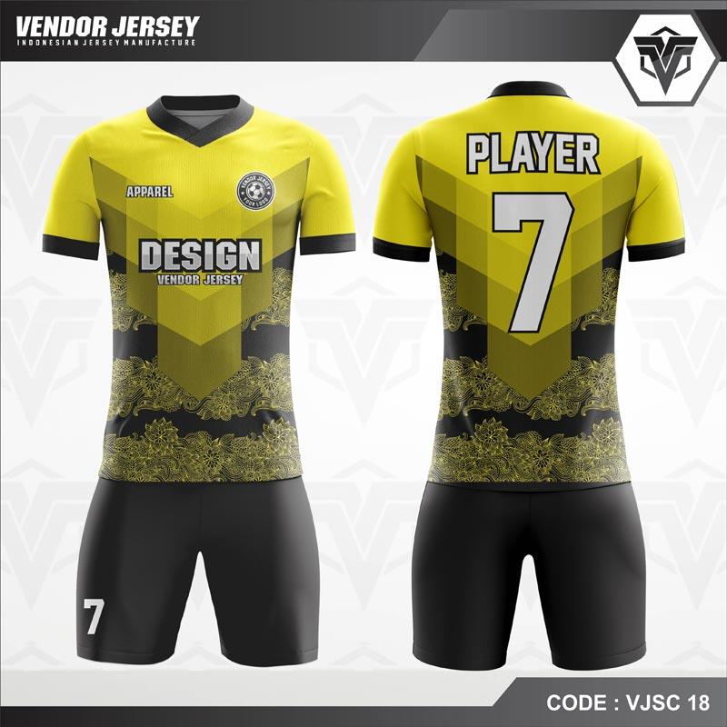 Koleksi Desain Jersey Futsal 02