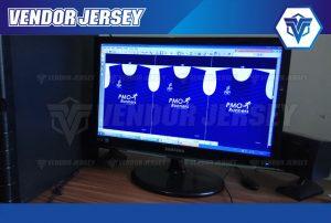 Jasa Pembuatan Jersey Lari Di Bekasi Kualitas Printing