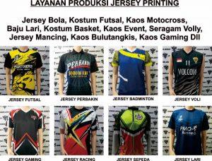 Pembuatan Kostum Olahraga Di Bekasi