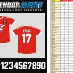 Bikin Jersey Polyflex Bekasi custom