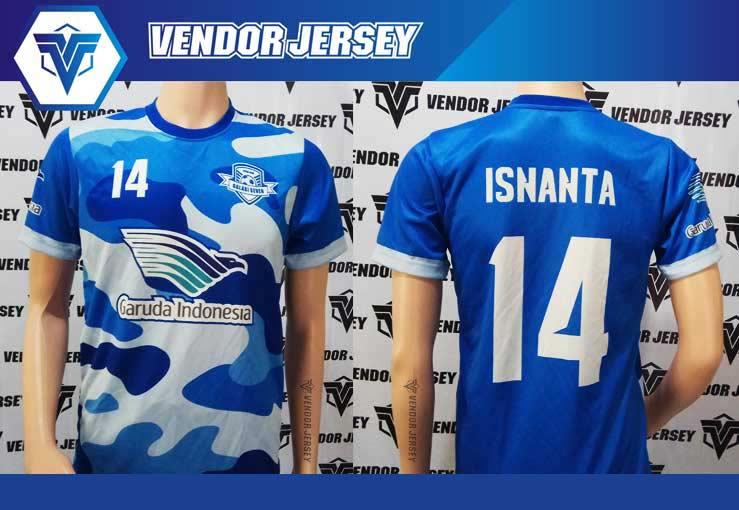 Jasa Pembuatan Kostum Futsal di Bekasi printing