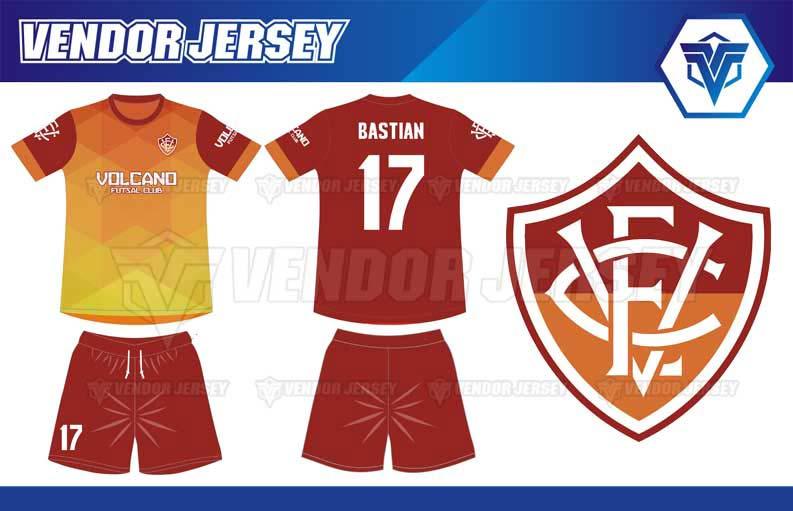 Konveksi Baju Futsal Printing di Bekasi desain full print