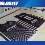 Tempat Bikin Kaos Futsal Printing di Bekasi murah