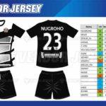 Tempat Bikin Kostum Futsal Printing di Bekasi desain custom