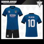 desain baju futsal bekasi biru