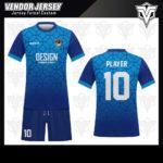 desain baju futsal bekasi biru muda dan tua
