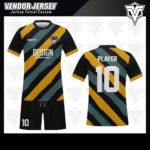 desain baju futsal bekasi garis diagonal