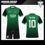 desain baju futsal bekasi hijau hitam