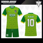 desain baju futsal bekasi hijau muda'