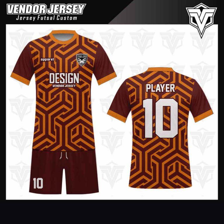 desain jersey futsal bekasi printing