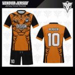 desain kaos futsal bekasi harimau