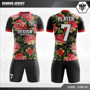 Desain Baju Bola Depan Belakang Kualitas Printing